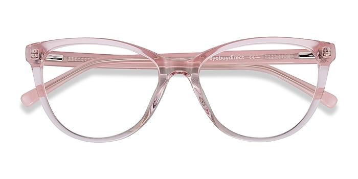 Clear Pink Sing -  Fashion Acetate Eyeglasses