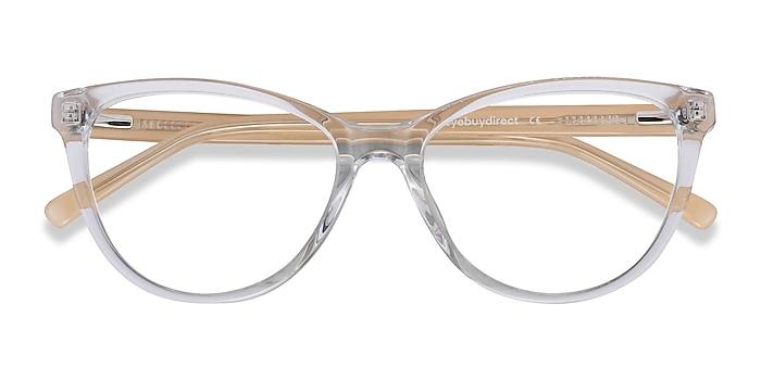 Clear Yellow Sing -  Fashion Acetate Eyeglasses