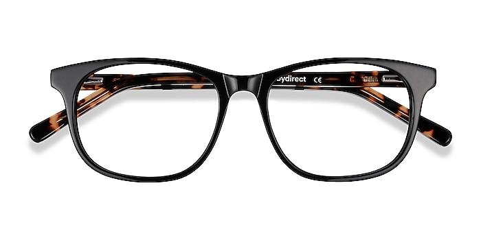 Black Steps -  Acetate Eyeglasses