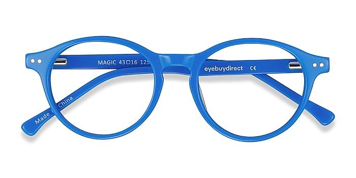 Blue Magic -  Colorful Acetate Eyeglasses