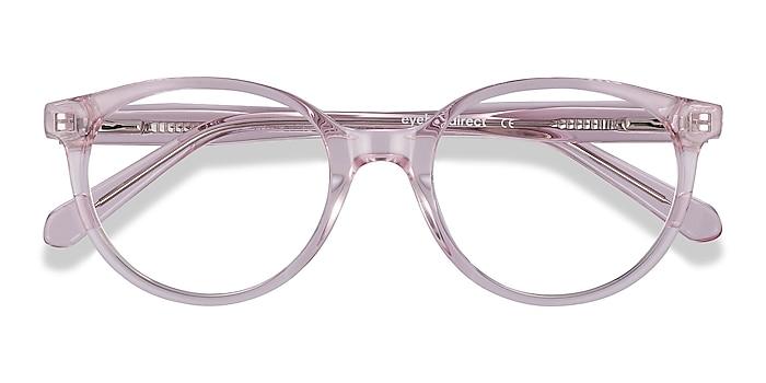 Clear Pink Trust -  Acetate Eyeglasses