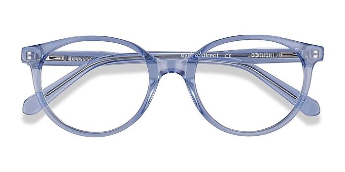 Clear Blue Trust -  Acetate Eyeglasses