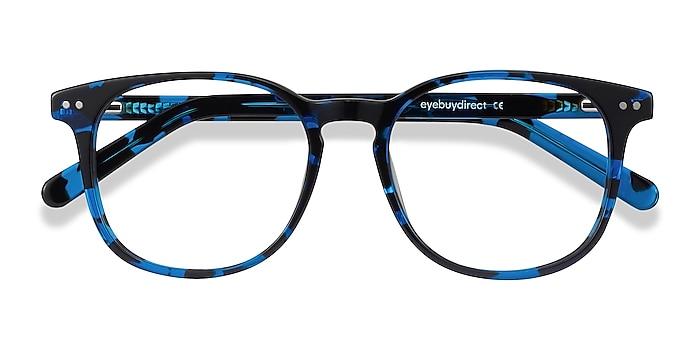 Blue Tortoise Ander -  Geek Acetate Eyeglasses
