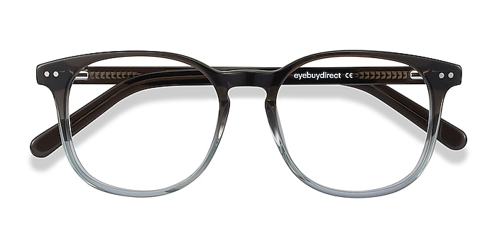 Gray Clear Ander -  Geek Acetate Eyeglasses