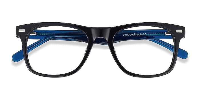 Black Caster -  Geek Acetate Eyeglasses