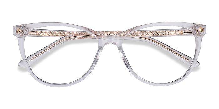 Clear Leonie -  Fashion Acetate Eyeglasses