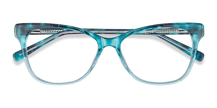 Blue Rosalie -  Colorful Acetate Eyeglasses