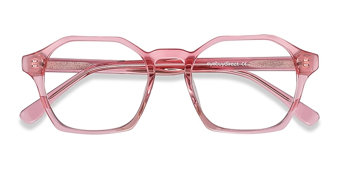 Clear Pink Orchid -  Fashion Acetate Eyeglasses