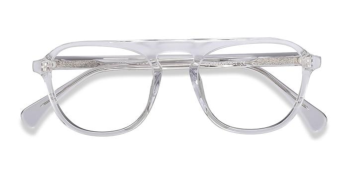 Clear Ida -  Geek Acetate Eyeglasses