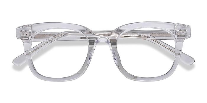 Clear Romy -  Geek Acetate Eyeglasses