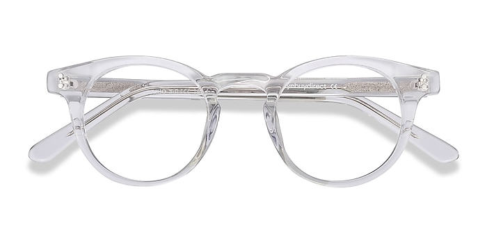 Clear Flora -  Fashion Acetate Eyeglasses