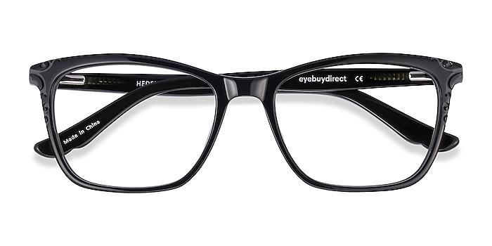 Black Hedera -  Acetate Eyeglasses