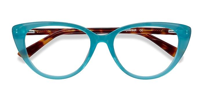 Turquoise & Tortoise Anastasia -  Fashion Acetate Eyeglasses