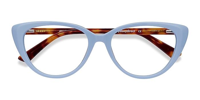 Baby Blue & Tortoise Anastasia -  Fashion Acetate Eyeglasses