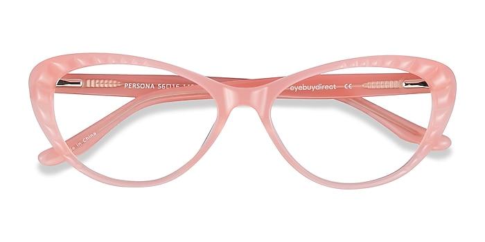 Coral Persona -  Vintage Acetate Eyeglasses