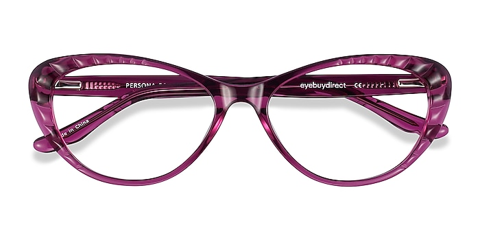 Cassis Persona -  Vintage Acetate Eyeglasses