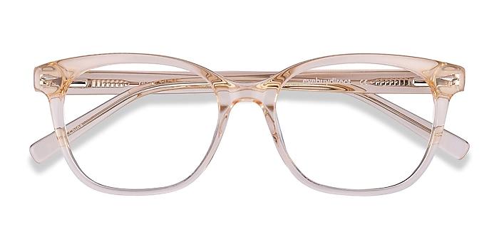 Clear Melon Yana -  Fashion Acetate Eyeglasses