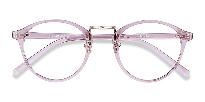 Lavender Chillax -  Fashion Plastic Eyeglasses