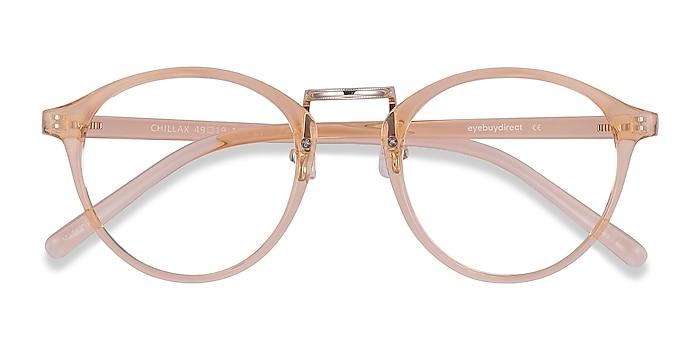 Clear Melon Chillax -  Fashion Plastic Eyeglasses
