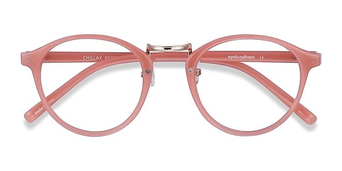Coral Chillax -  Fashion Plastic Eyeglasses