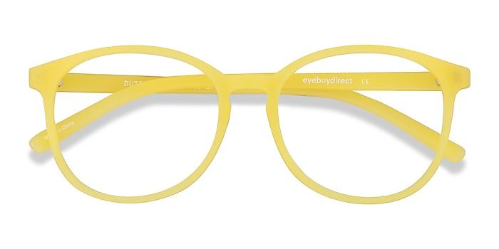 Yellow Dutchess -  Fashion Plastic Eyeglasses