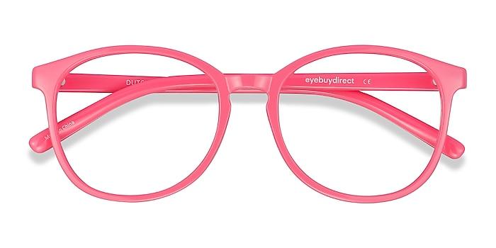 Neon Pink Dutchess -  Fashion Plastic Eyeglasses