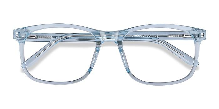 Clear Blue Ballast -  Geek Acetate Eyeglasses