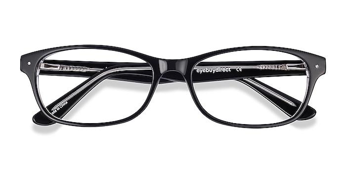 Black Kedah -  Acetate Eyeglasses