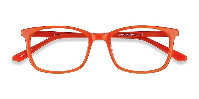 Orange Equality -  Colorful Acetate Eyeglasses