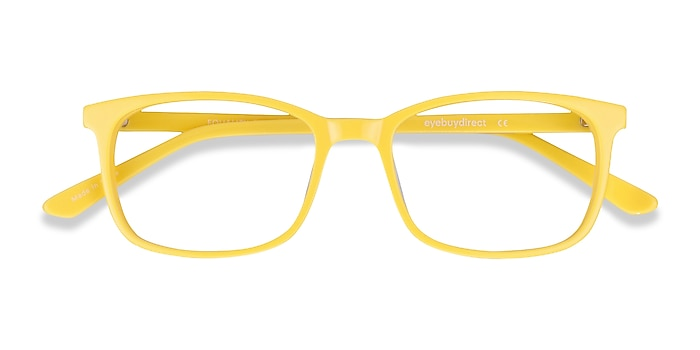 Yellow Equality -  Colorful Acetate Eyeglasses