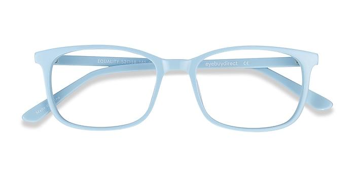 Blue Equality -  Colorful Acetate Eyeglasses