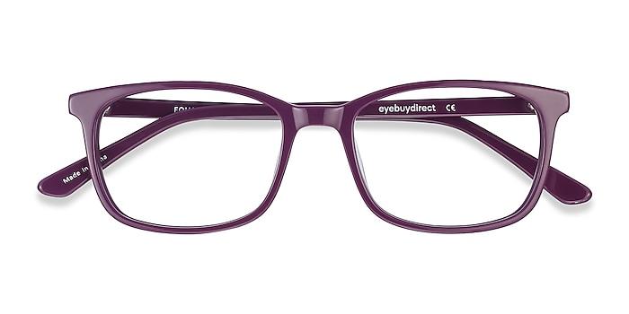 Purple Equality -  Colorful Acetate Eyeglasses