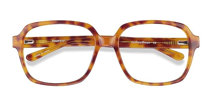 Light Tortoise Tompkins -  Vintage Acetate Eyeglasses