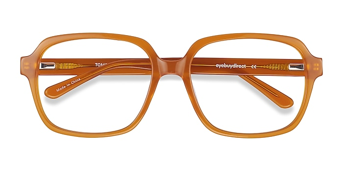 Mellow Yellow Tompkins -  Vintage Acetate Eyeglasses