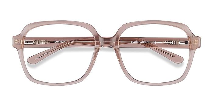 Clear Brown Tompkins -  Vintage Acetate Eyeglasses