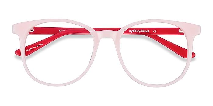 Pink & Red Solveig -  Colorful Acetate Eyeglasses