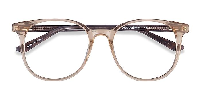 Clear Brown Solveig -  Acetate Eyeglasses