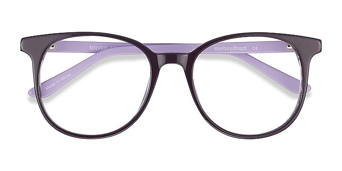 Purple Solveig -  Colorful Acetate Eyeglasses