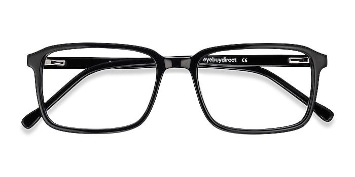 Black Rafferty -  Vintage Acetate Eyeglasses