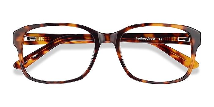 Tortoise Tobias -  Vintage Acetate Eyeglasses