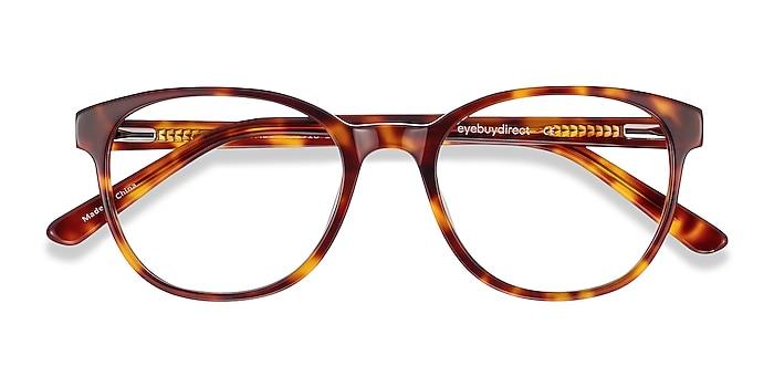Tortoise Gable -  Acetate Eyeglasses