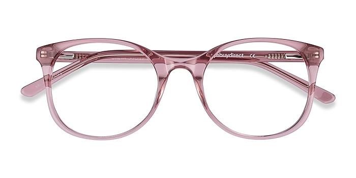 Clear Pink Greta -  Coloré Acétate Lunettes de vue