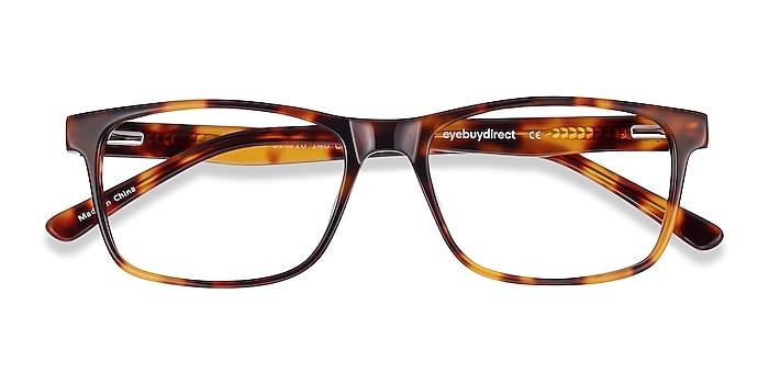 Tortoise Pochi -  Acetate Eyeglasses
