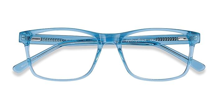 Blue Pochi -  Colorful Acetate Eyeglasses