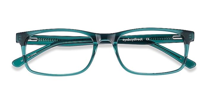 Teal Vista -  Colorful Acetate Eyeglasses