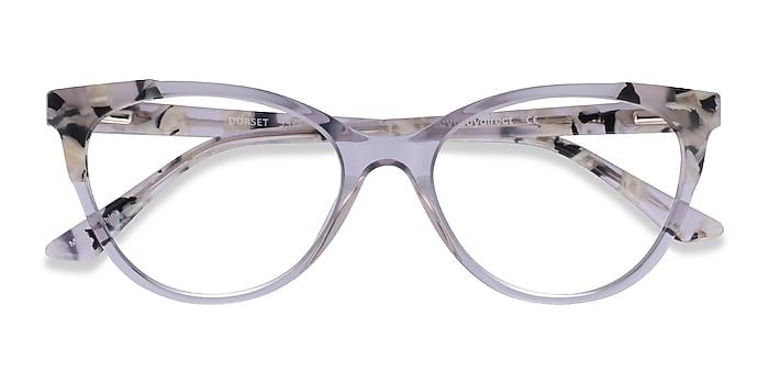 Clear Tortoise Dorset -  Acetate Eyeglasses