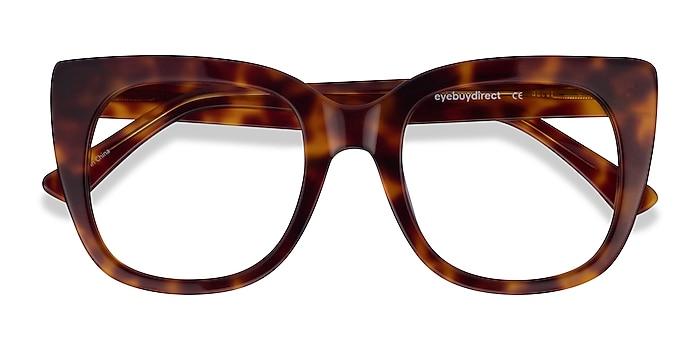 Tortoise Unique -  Fashion Acetate Eyeglasses
