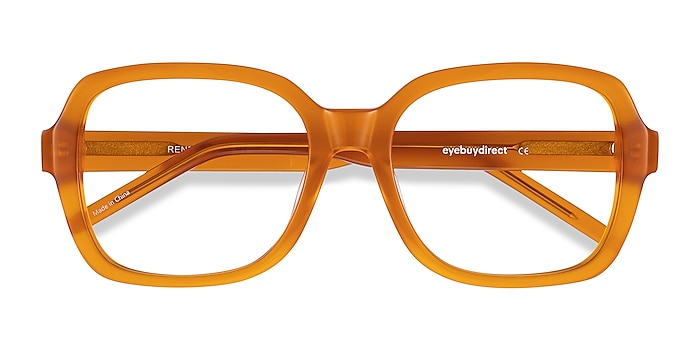 Mellow Yellow Renee -  Vintage Acetate Eyeglasses