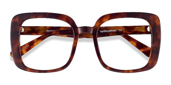 Tortoise Heather -  Vintage Acetate Eyeglasses