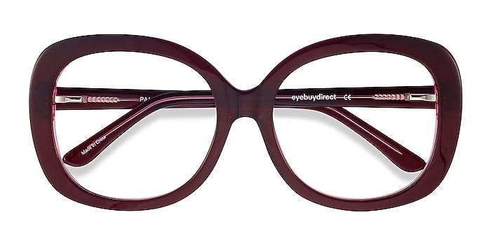 Burgundy Pamela -  Vintage Acetate Eyeglasses